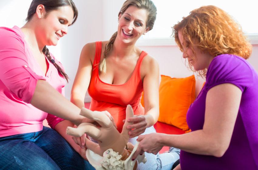 AUFGEDECKT✘ Geburtsvorbereitung trotz Corona – so klappt es