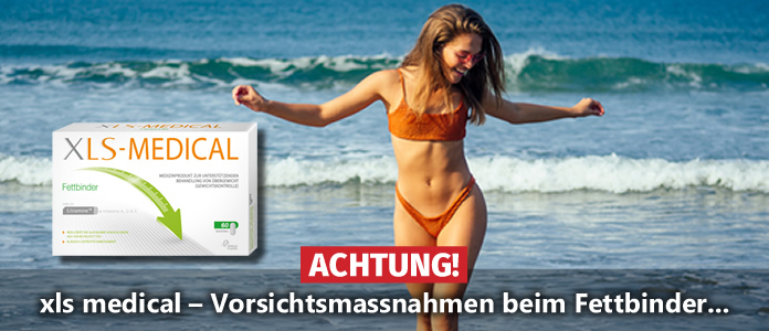 ACHTUNG! xls medical – Vorsichtsmassnahmen beim Fettbinder…