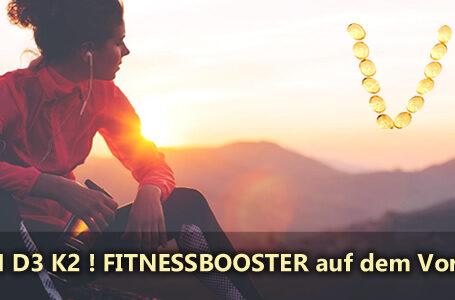 Vitamin D3 K2 Fitnessbooster