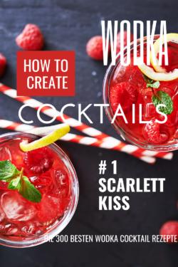 Himbeer Erdbeer Cocktail - Scarlett Kiss