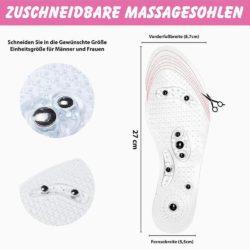 Sensomotorische Einlagen - Magnetsohlen